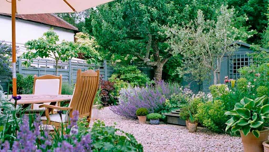 Красивые грядки на огороде и в саду: фото идеи